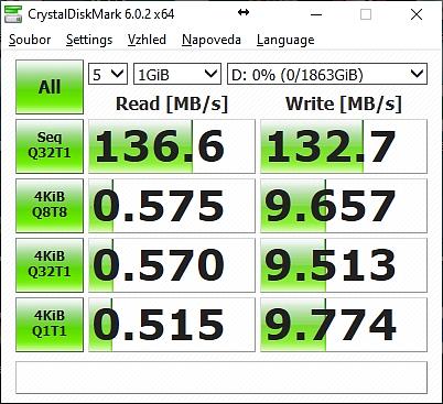 WD_BLACK P10 recenze - testy rychlosti