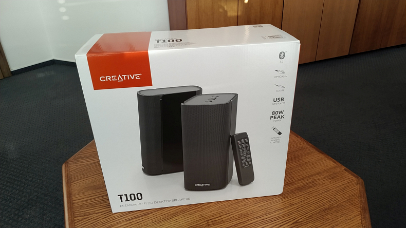 Reproduktory Creative T100 2.0