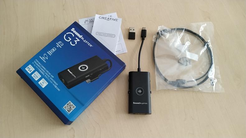 Creative Sound Blaster G3 zvuková karta pro hráče