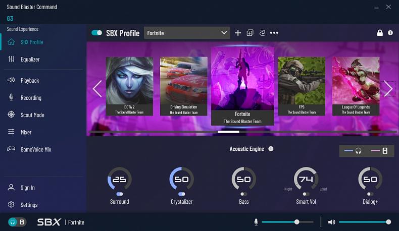 Creative Sound Blaster G3 zvuková karta pro konzole
