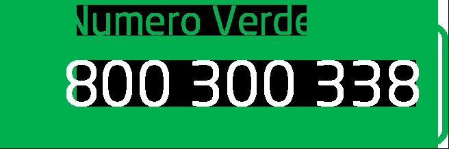Numero Verde: 800300338