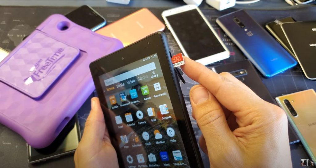 How to use a MicroSD on your Amazon Fire Tablet