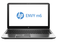 HP ENVY Touchsmart m6 Series AMD FX-Series CPU