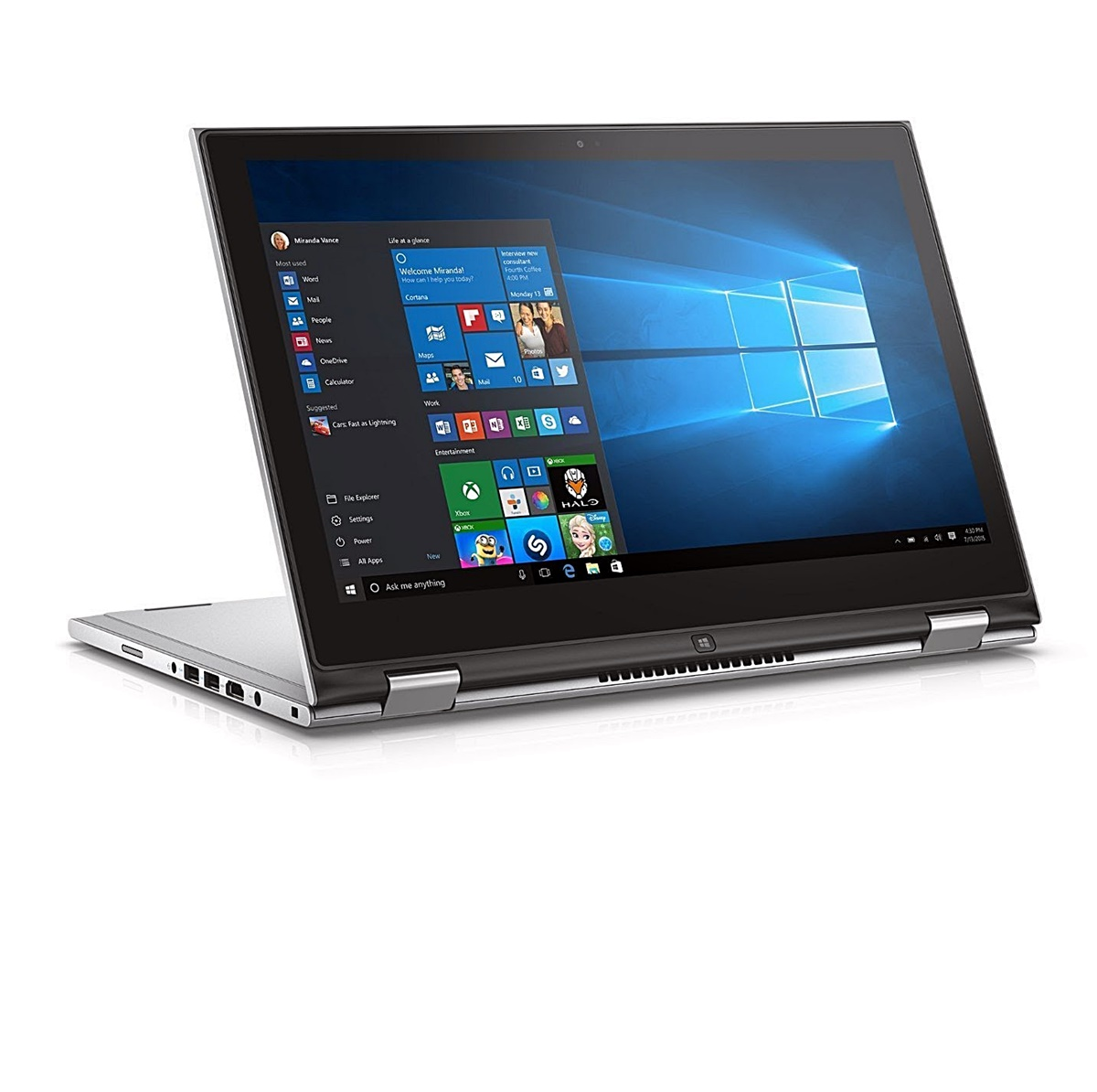 Dell Inspiron 13 7000 Series 2-in-1 Intel Pentium CPU