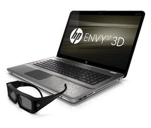 HP ENVY 17 3D Series  Core i7 CPU