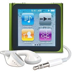 Apple iPod Nano 6th Gen 16GB