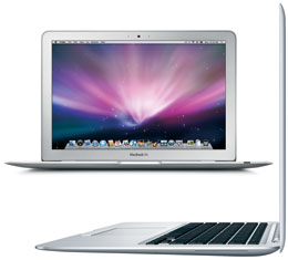 Apple Macbook Air 13-inch Mid-2009 - 2.13 GHz Core 2 Duo 128GB