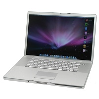 Apple Macbook Pro 17-inch Early 2008 MB166LL/A MacBookPro4,1 - 2.5 GHz Core 2 Duo 250GB HDD