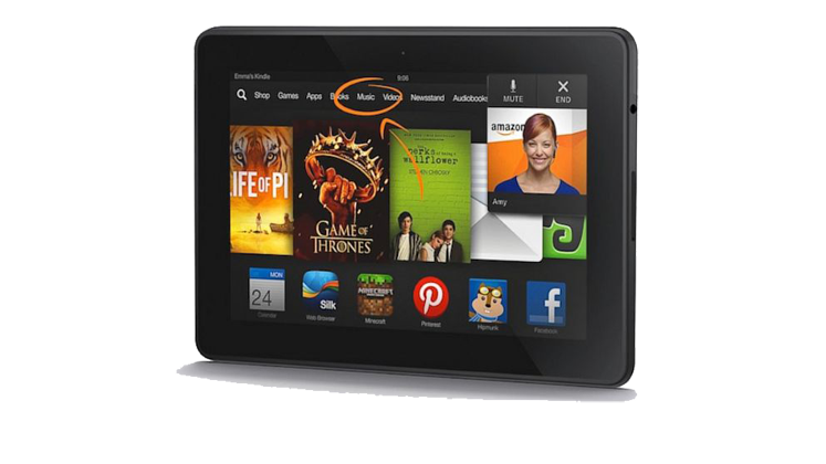 Amazon Kindle Fire HDX 8.9-in 16GB