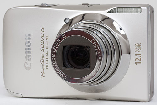 Canon PowerShot SD970IS 12.1MP Digital Camera