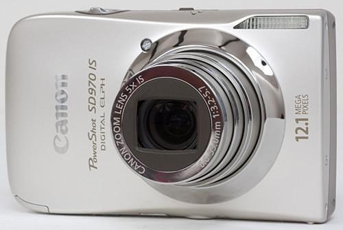 Canon PowerShot SD970IS 12.1MP Digital Camera