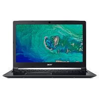 Acer Aspire 7 Series A715, A717 Series Intel Core i7 8th Gen. CPU