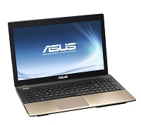 Asus K55 Series Intel Core i3 or i5 CPU