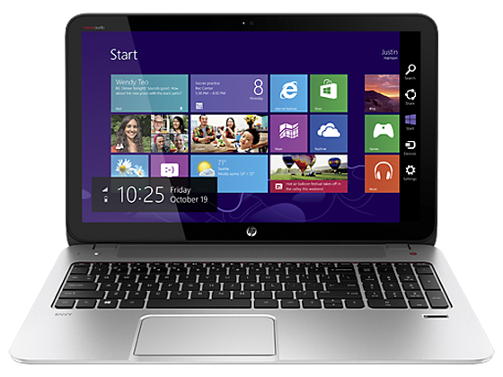 HP ENVY TouchSmart 15 Series AMD A10 CPU