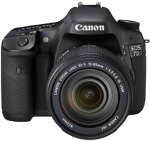 Canon EOS 7D Mark II 20.2 MP Digital SLR Camera