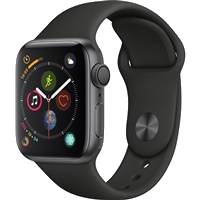 Apple Watch Series 4 Aluminum Case with Sport Band 40mm - GPS + Cellular