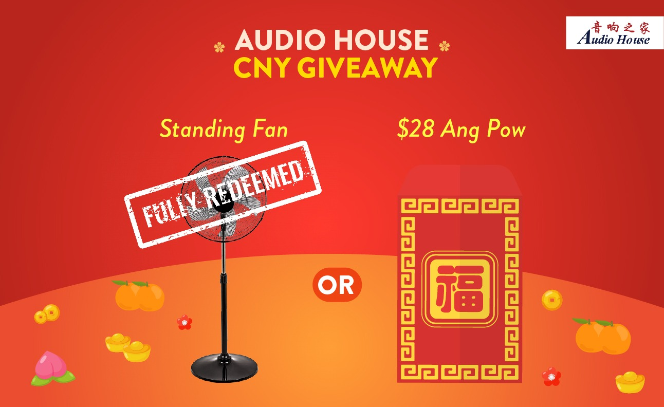 Audio House 2020 CNY Giveaway