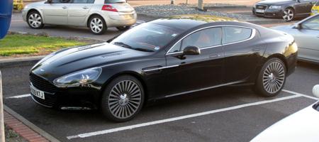 Spyshots: Aston Martin Rapide Undisguised - GTspirit