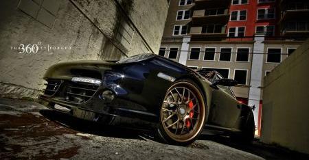 360° Forged Porsche 997 Turbo
