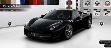 Ferrari 458 Italia Configurator - GTspirit