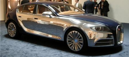 Bugatti 16C Concept In The Flesh