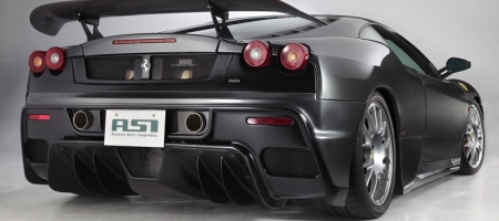 F430 Scuderia-style Exhaust System by ASI