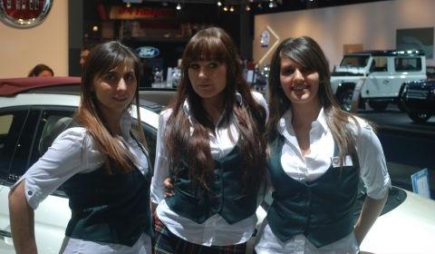 Brussels Motor Show - Fiat Babes