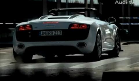 Video Audi R V Spyder Commercial GTspirit - Audi r8 commercial