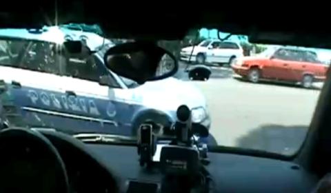 Video Team Polizei Gets Police Escort