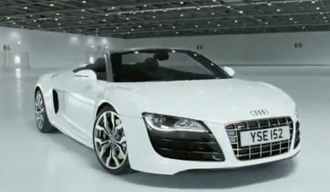Video Second Audi R V Spyder Commercial GTspirit - Audi r8 commercial