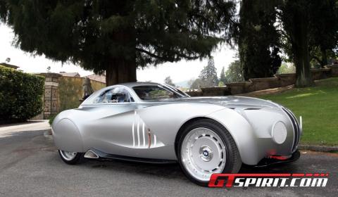 Villa d'Este 2010 BMW 328 Mille Miglia Coupé Concept