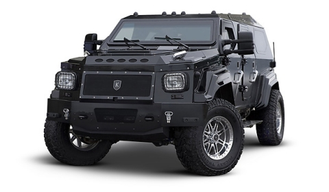 Conquest Knight XV - Fully Armoured Luxury SUV - GTspirit