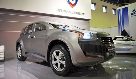 Marussia F2 SUV Makes World Debut in Moscow 01