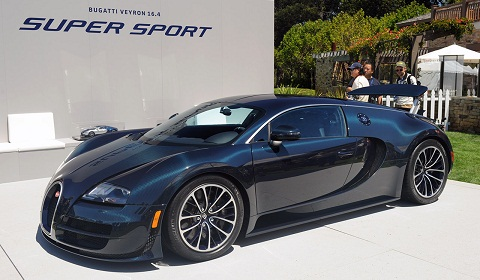 monterey 2010 bugatti veyron super sport makes public debut gtspirit. Black Bedroom Furniture Sets. Home Design Ideas