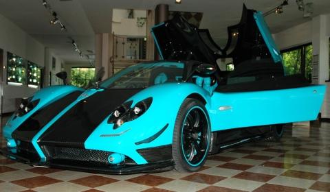 Gallery Pagani Zonda Uno Yellow Cinque Roadster No45 Gtspirit