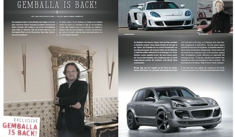 Interview Andreas Schwarz New CEO Gemballa