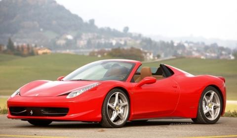 Rendering: Ferrari 458 Italia Spider GTS
