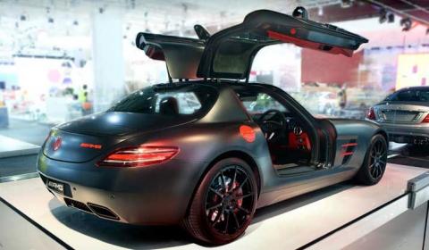 Mercedes-Benz SLS AMG Night Black 01