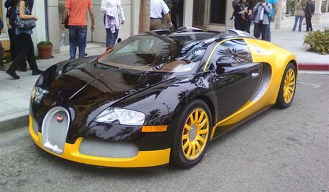 Overkill: Yellow Bugatti Veyron - GTspirit
