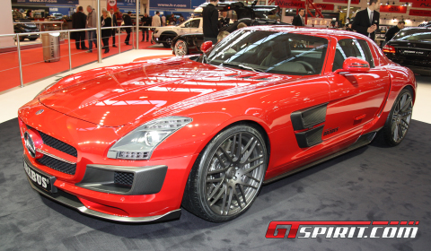 Essen 2010 Mercedes-Benz SLS AMG Widestar by Brabus