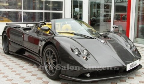 For Sale: Pagani Zonda F Roadster Clubsport - GTspirit