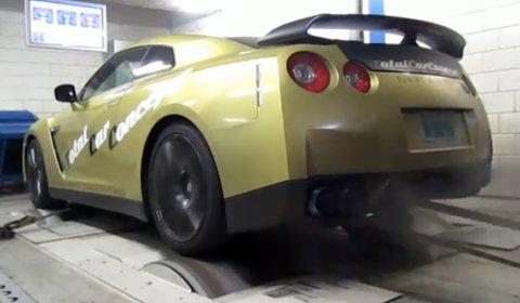 Video Dyno Run Switzer Performance R35 GT-R