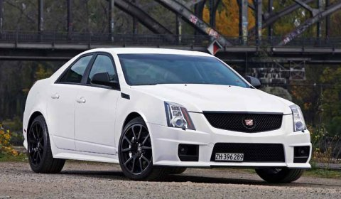 Official cam shaft cadillac cts v with 630hp gtspirit deplating and painting of 25 chrome parts in matt black including wheels painted in matt black and black nickel plated wheel bolts is 3250 publicscrutiny Image collections