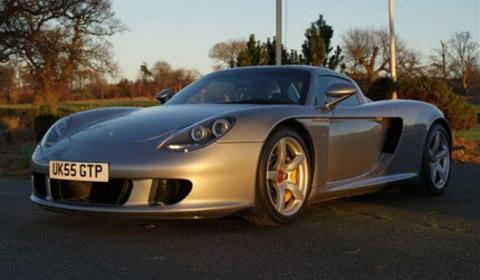 Silver 2005 Porsche Carrera GT