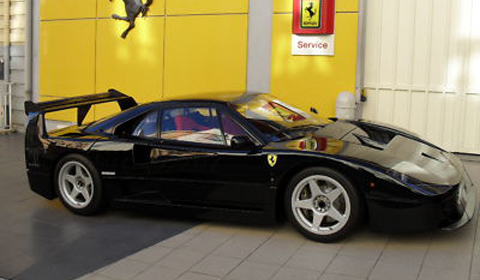 For Sale: Black Ferrari F40 LM - GTspirit