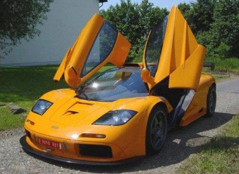 For Sale Orange McLaren F1 GTR 01