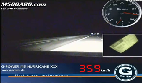 G-Power Hurricane RS BMW M5 Touring