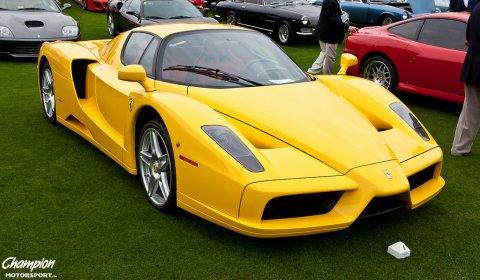 Gallery: Yellow Ferrari Enzo at Cavallino Clics XX - GTspirit