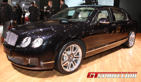 Geneva 2011 Bentley Flying Spur Series 51 Gtspirit
