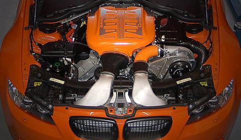 G-Power M3 GTS Engine